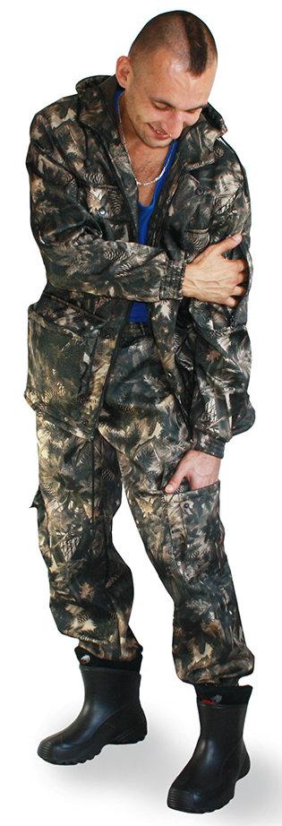 костюм заснеженный леопард рыболовный